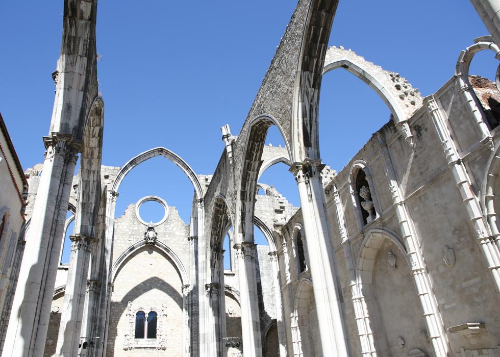 리스본 카르모 수도원 Carmo Convent