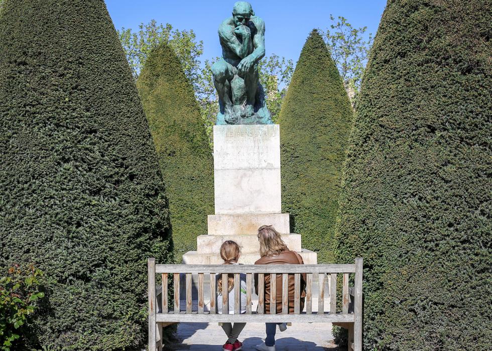 Paris in the spring - Rodin museum