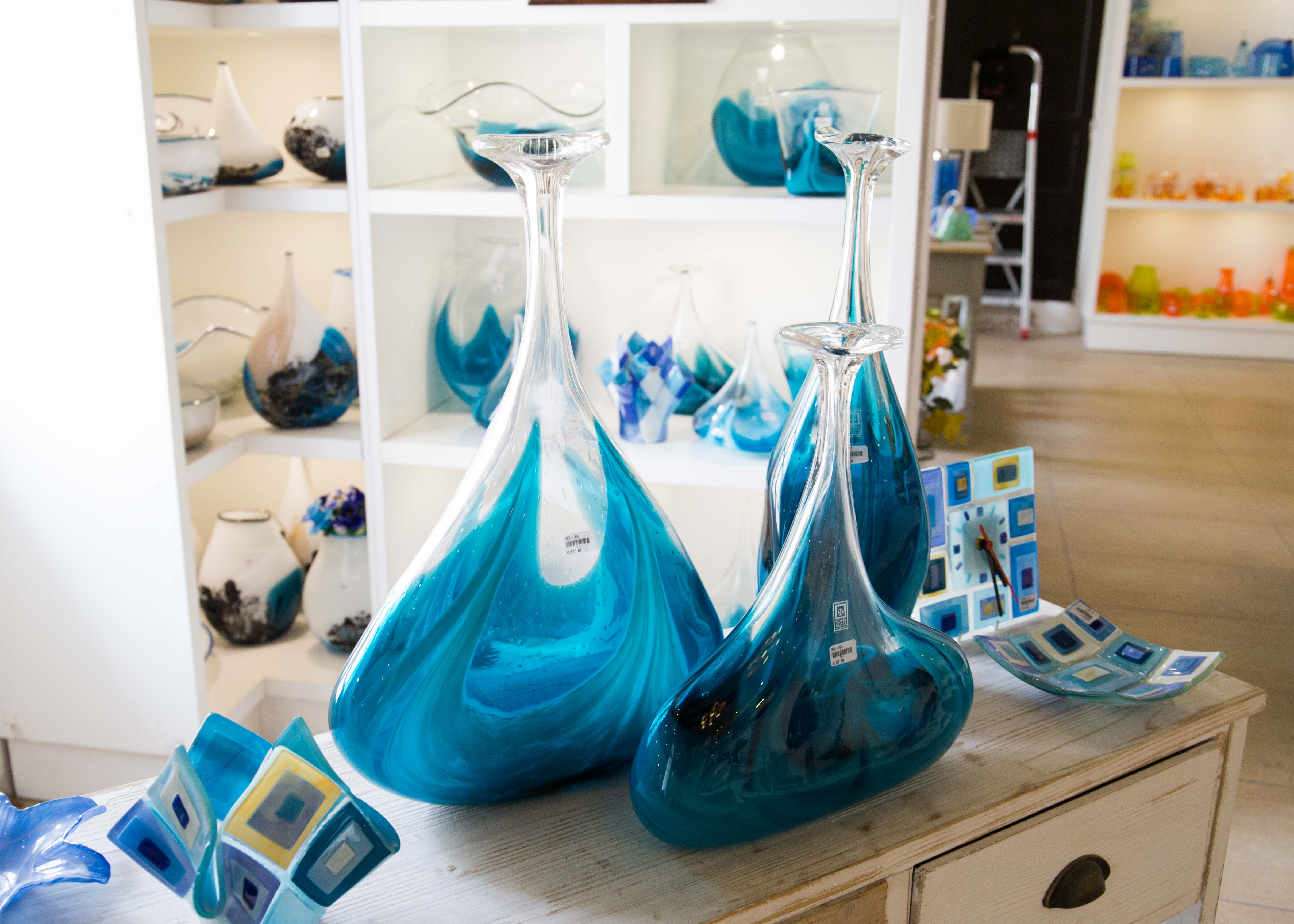 Malta souvenirs: Mdina glass