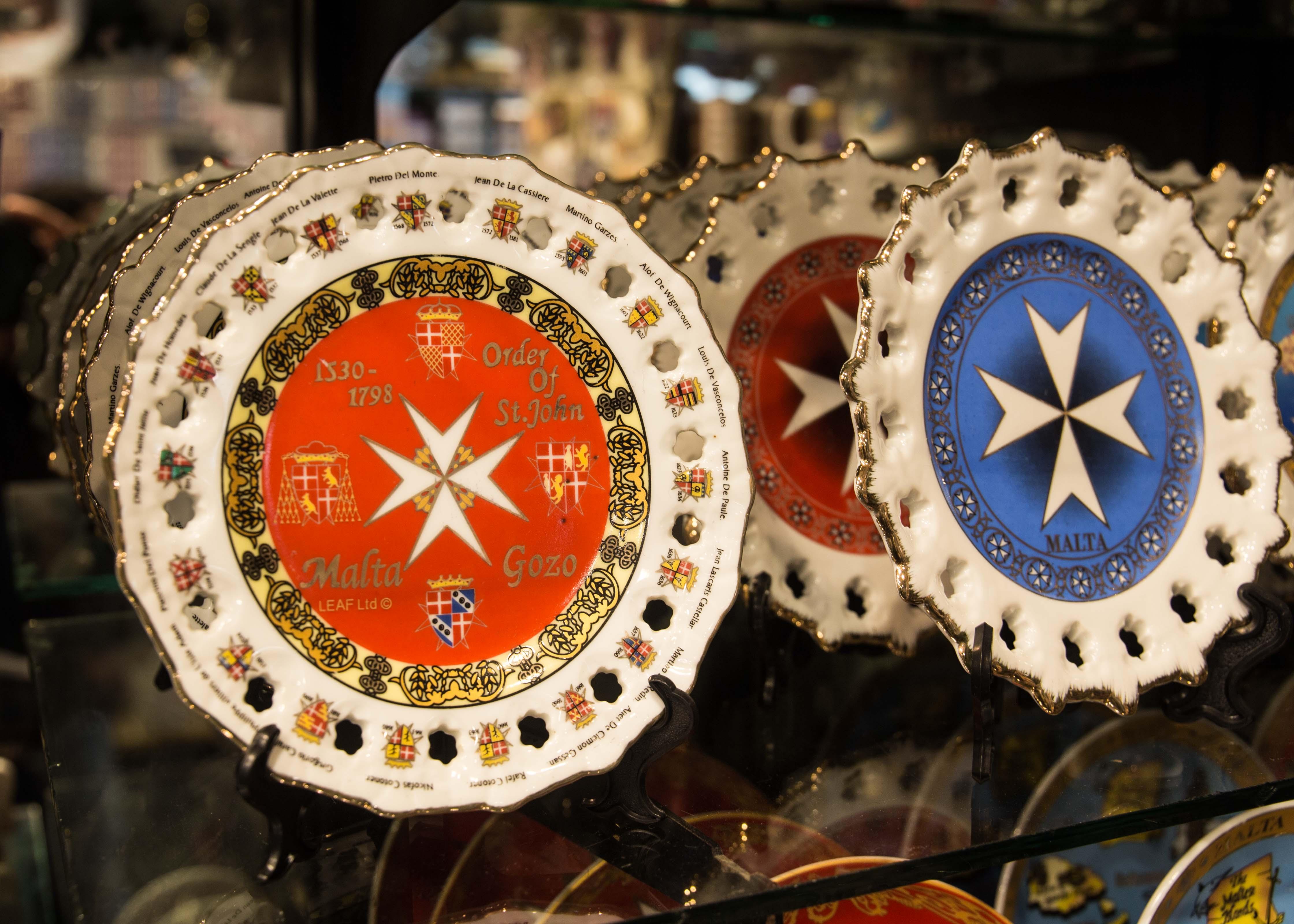 Malta souvenirs: Maltese Cross