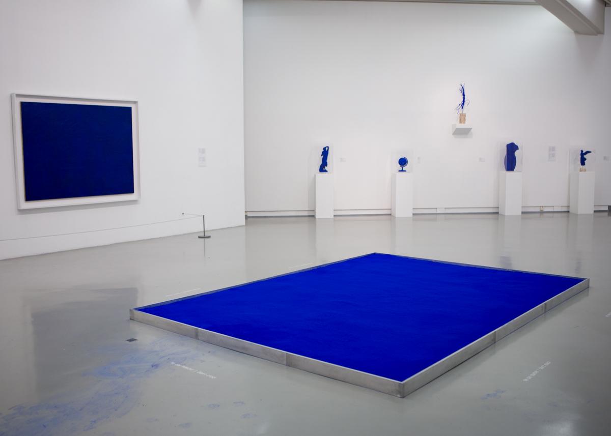 งานศิลปะของ Yves Klein