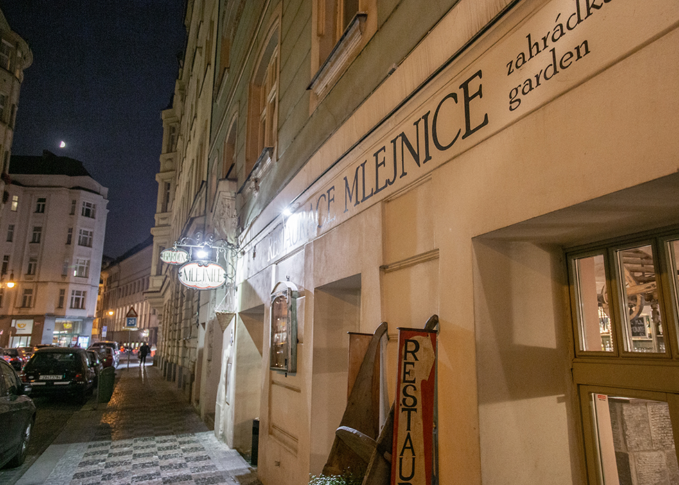 WHERE TO EAT IN PRAUGE - MLEJNICE