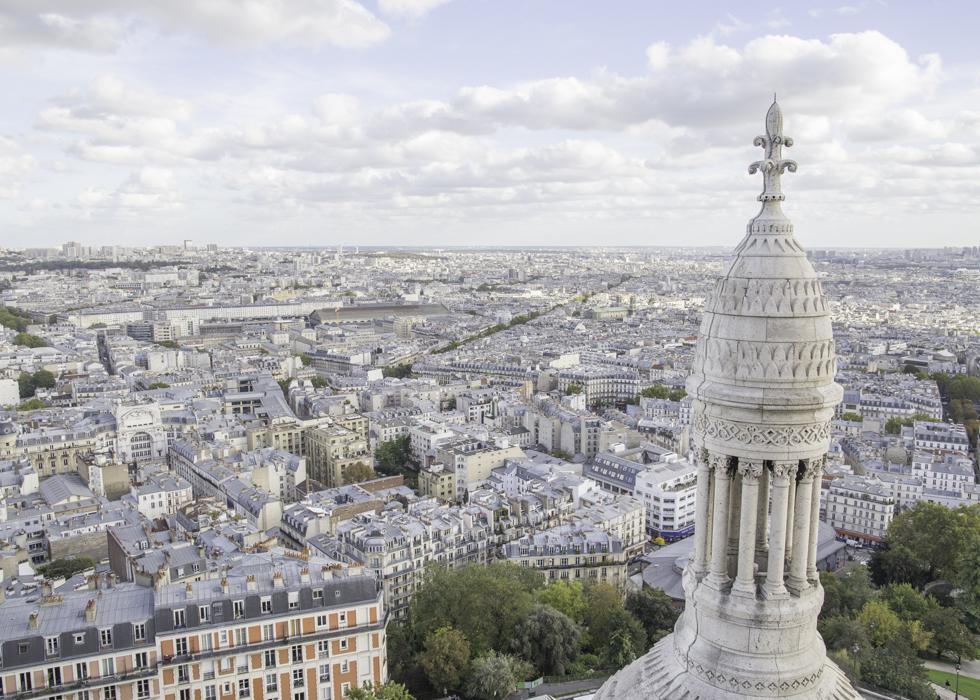 LA BASILIQUE DU SACRE-COEUR PARIS