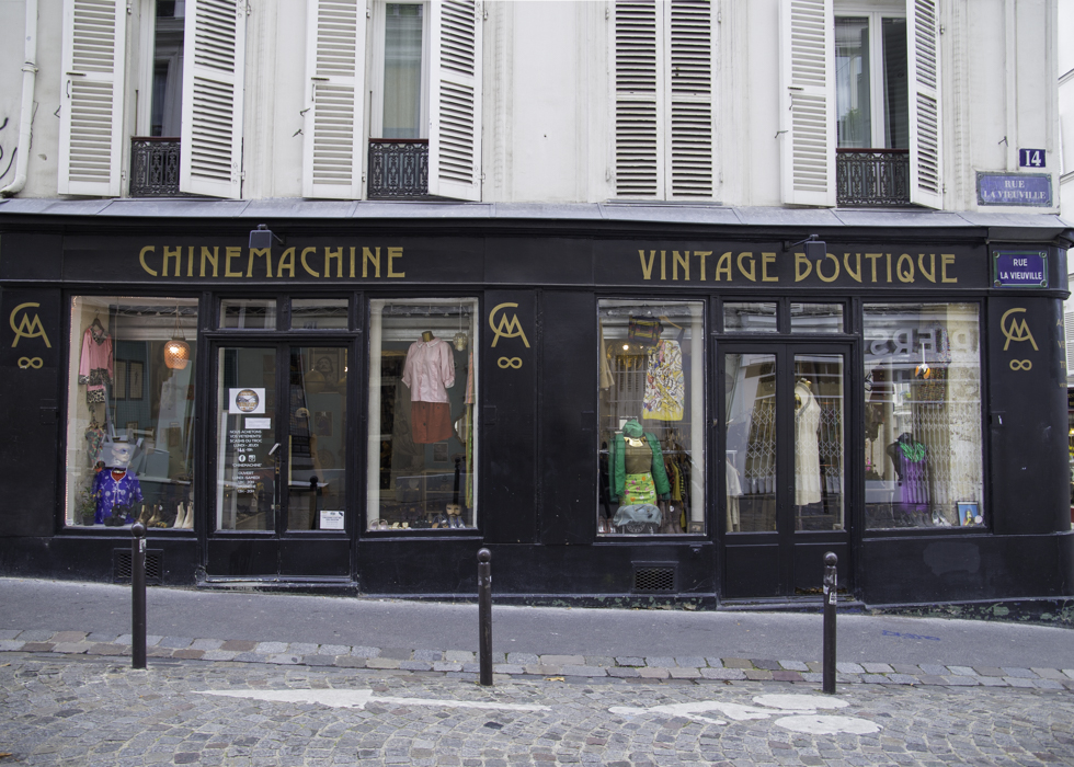 VINTAGE BOUTIQUE PARIS