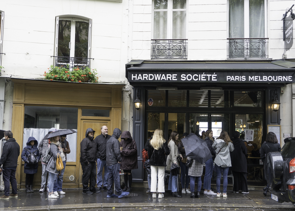 THE HARDWARE SOCIETE PARIS