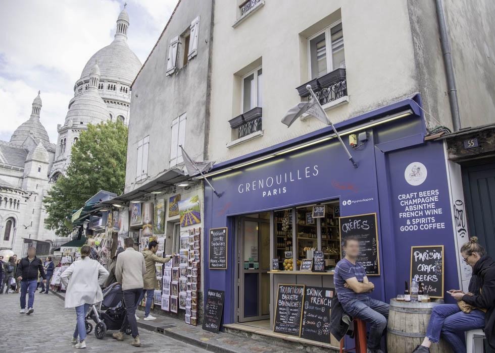 GRENOUILLES RESTAURANT, PARIS