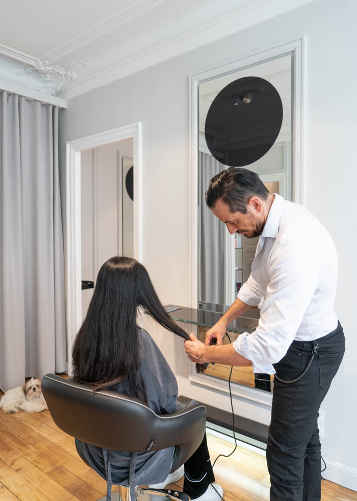 paris hairdresser interview