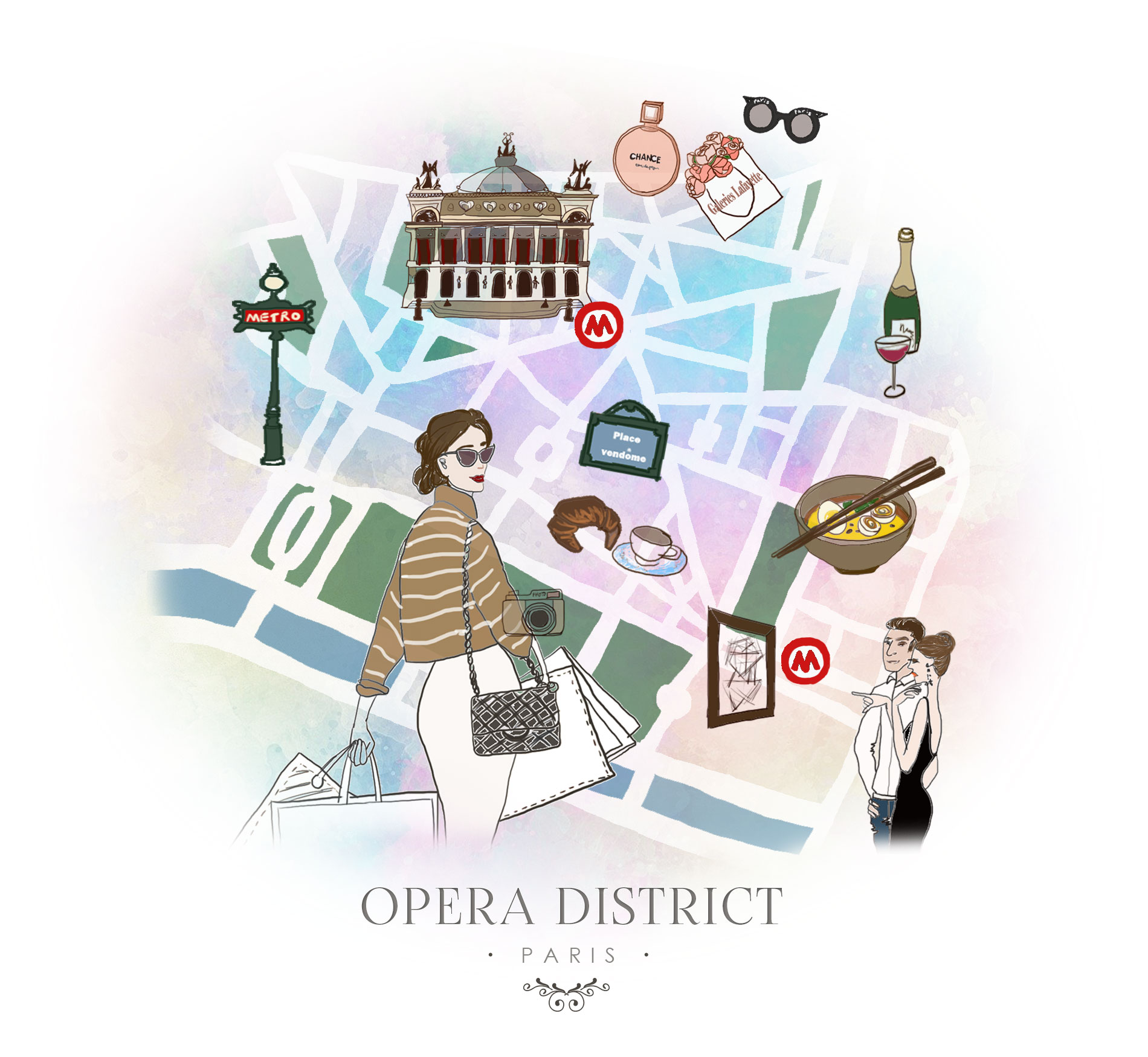 Paris - What to do in Opera district