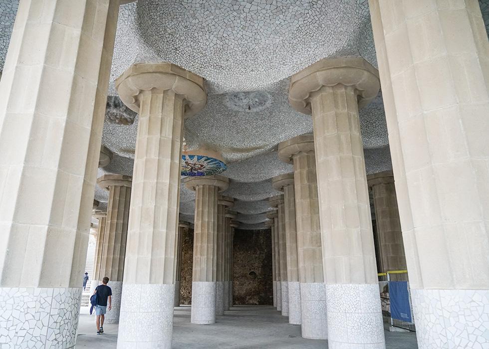 가우디의 천재적 작품 : 구엘공원
