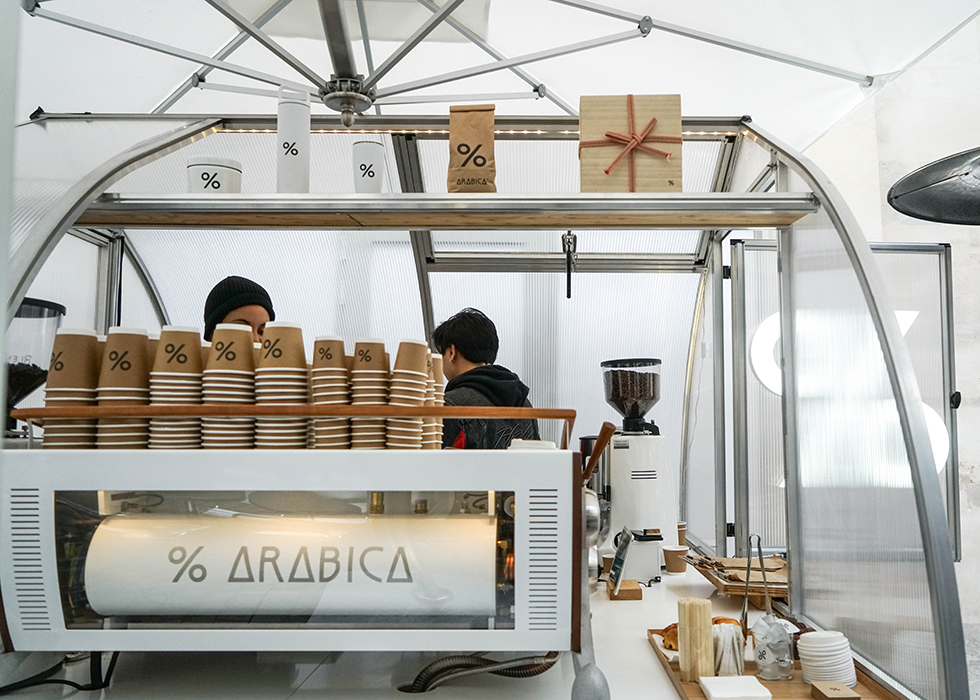 Paris cafe recommendation : ARABICA %