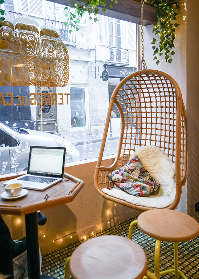 Paris pretty cafe : TERRES DE CAFE