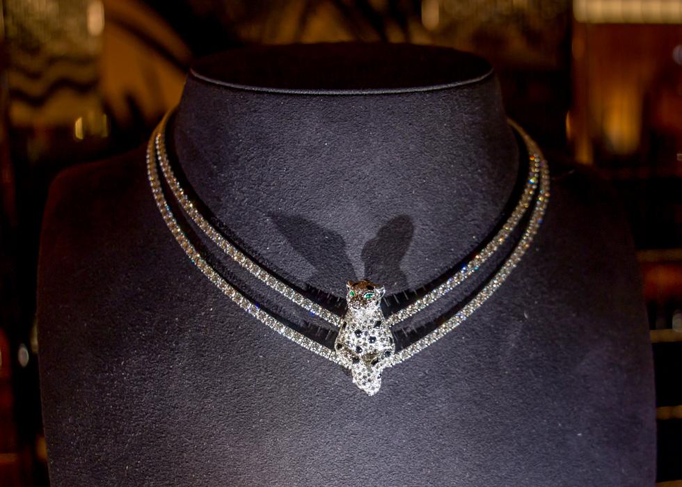 巴黎时装周 Cartier卡地亚钻石