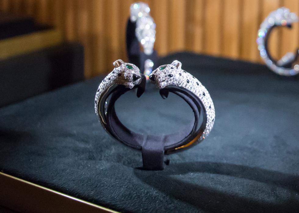 巴黎时装周 Cartier卡地亚钻石发表