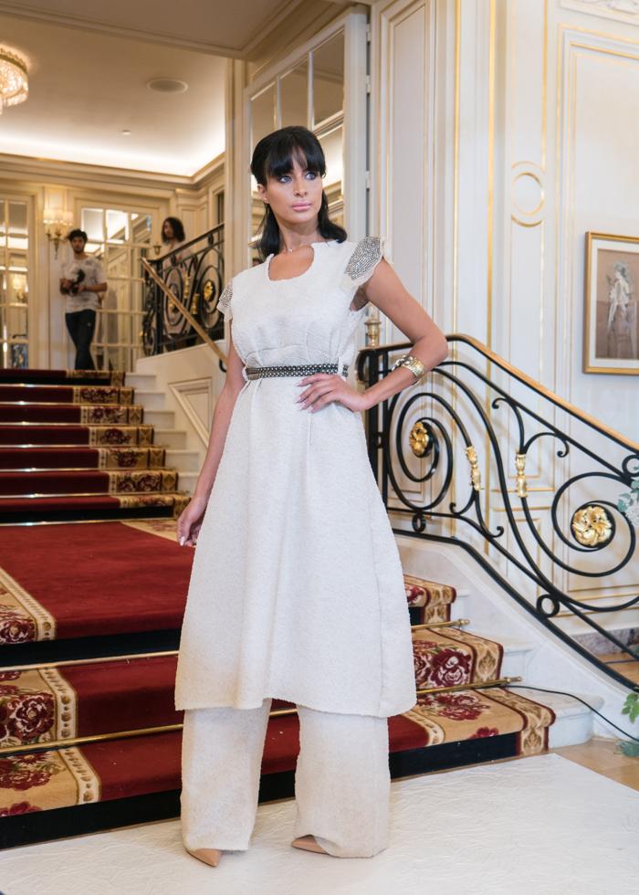 巴黎时装周 Ritz Paris 巴黎丽兹時尚秀 设计师 Nazarene Amictus