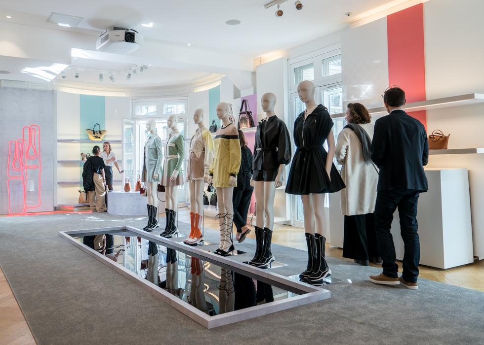 巴黎时装周 Longchamp 龙骧媒体发表会