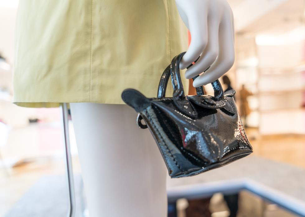 巴黎时装周 Longchamp 龙骧 迷你折叠包