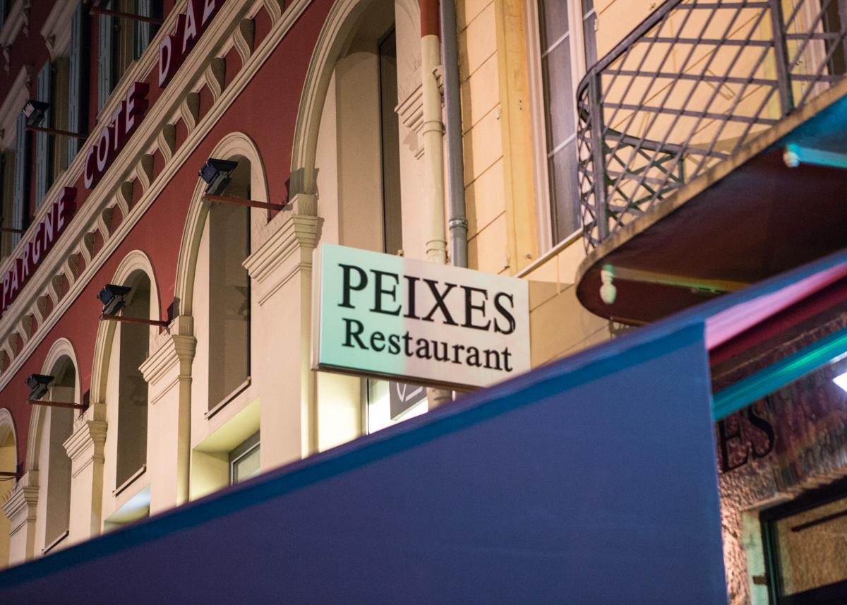 ร้านอาหารทะเลเมืองนีซ