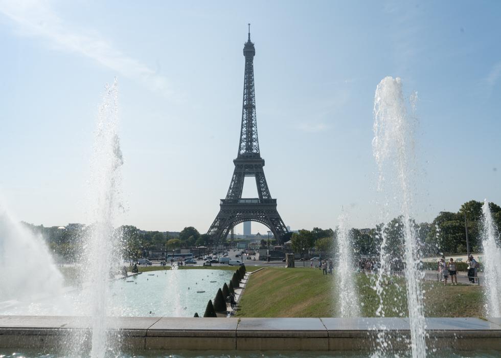 艾菲爾鐵塔 最佳拍照地點 Trocadero 花園廣場