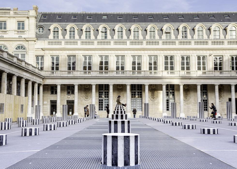 巴黎 皇家宫殿PALAIS ROYAL 網美景點