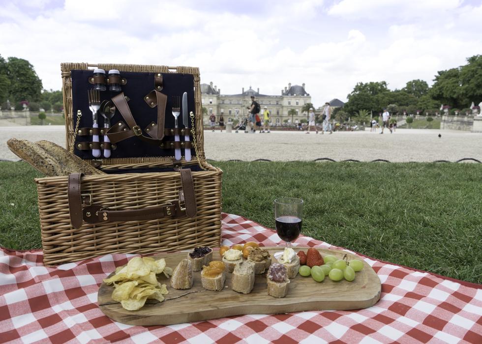 巴黎野餐 盧森堡花園