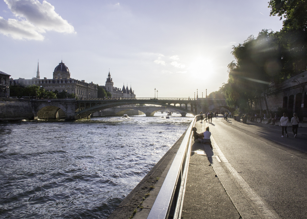 The Seine : photography spots