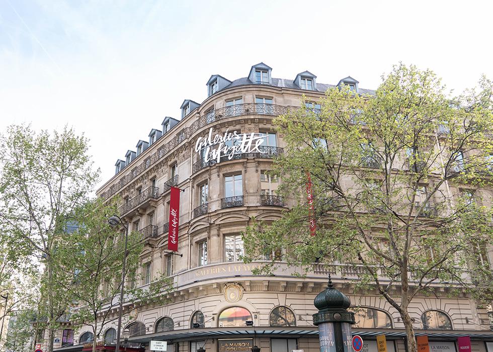 巴黎百貨公司 老佛爺奧斯曼旗艦店