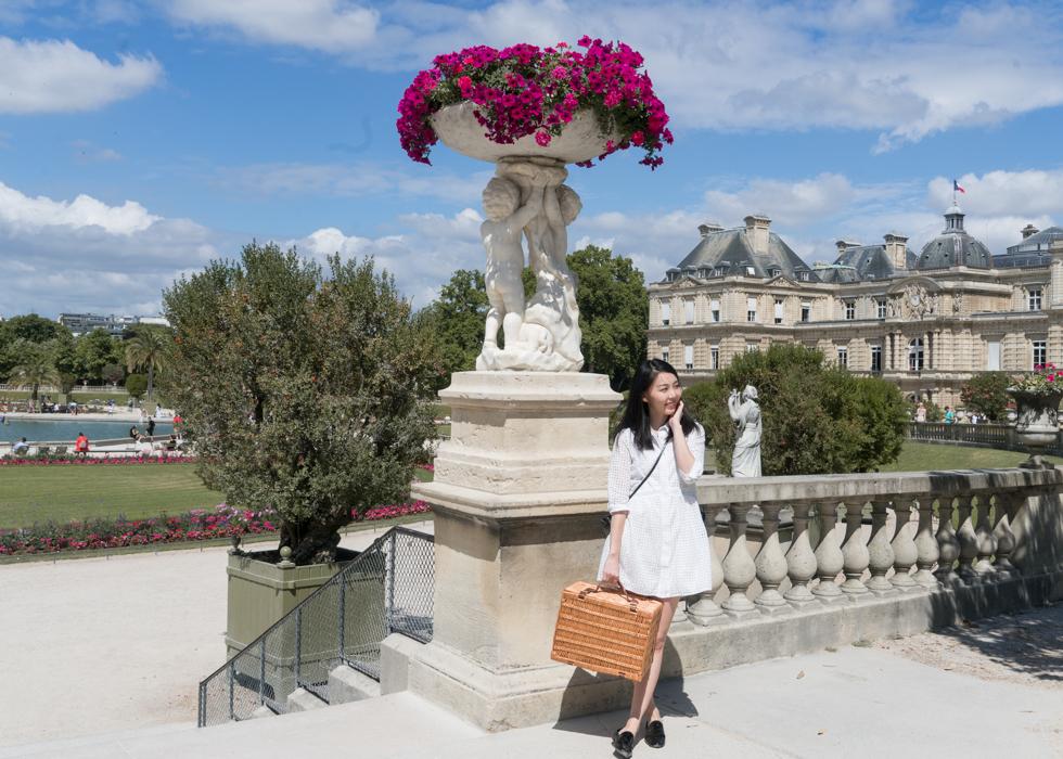 巴黎盧森堡公園 LUXEMBOURG GARDEN