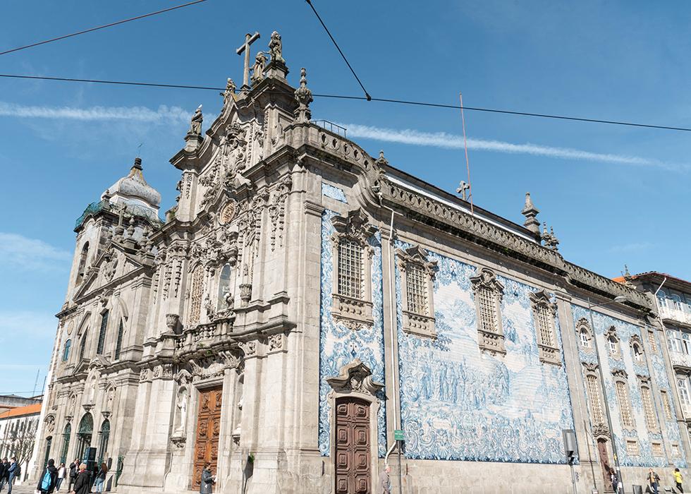 포르투 아줄레주 성당 : 카르모 성당