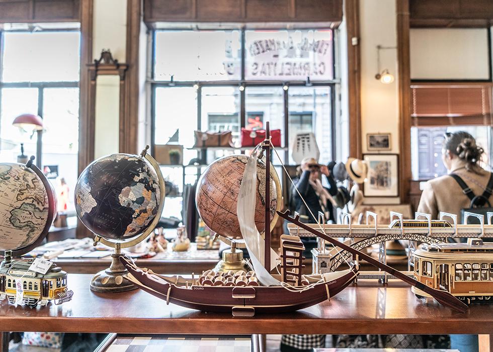 Porto souvenir shop : A VIDA PORTUGUESA
