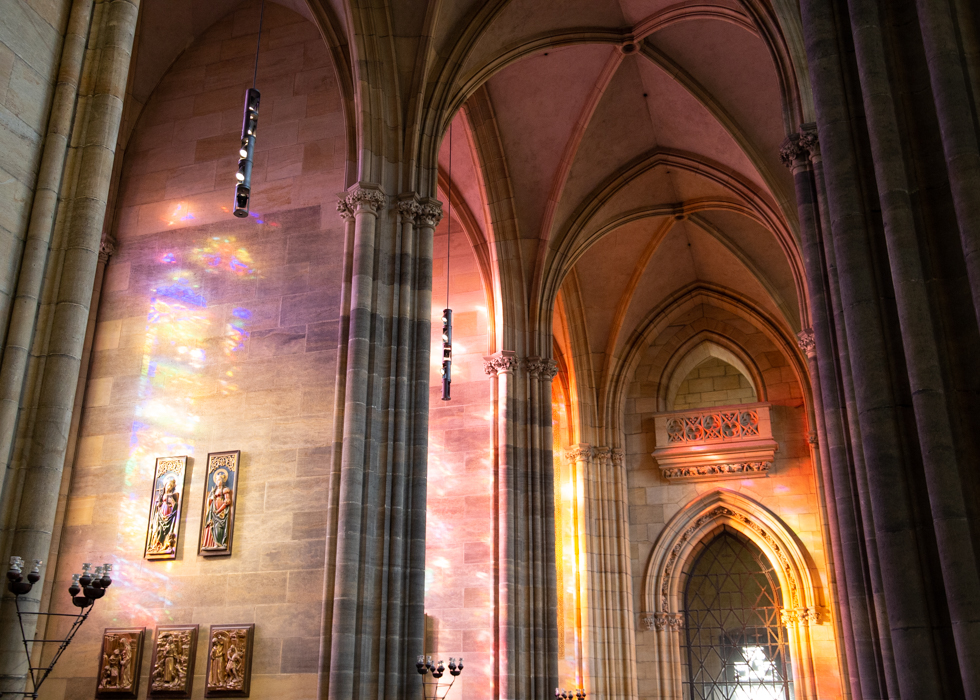 STAINED GLASSES OF ST. VITUS CATHEDRAL
