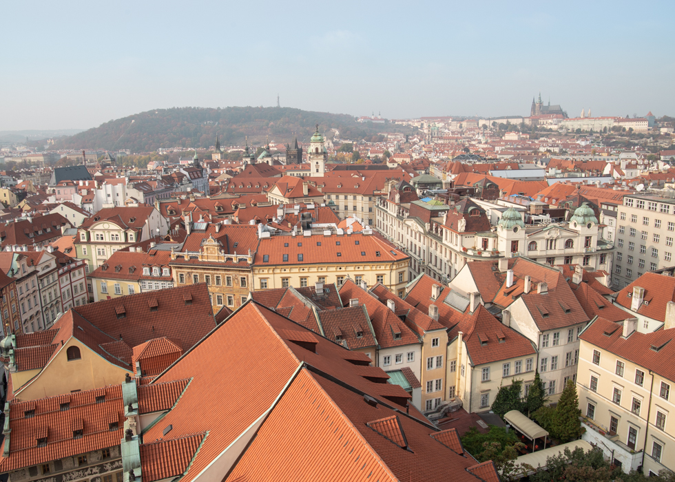 Prague Castle viewpoint