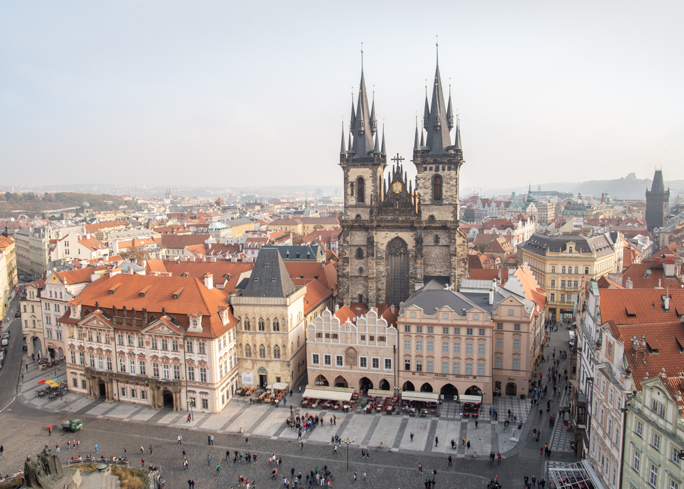 Prague Old Town observatory