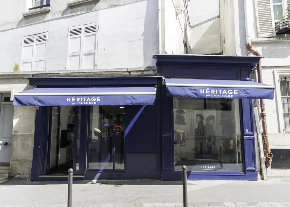 Héritage Laulhère shop at Montmartre