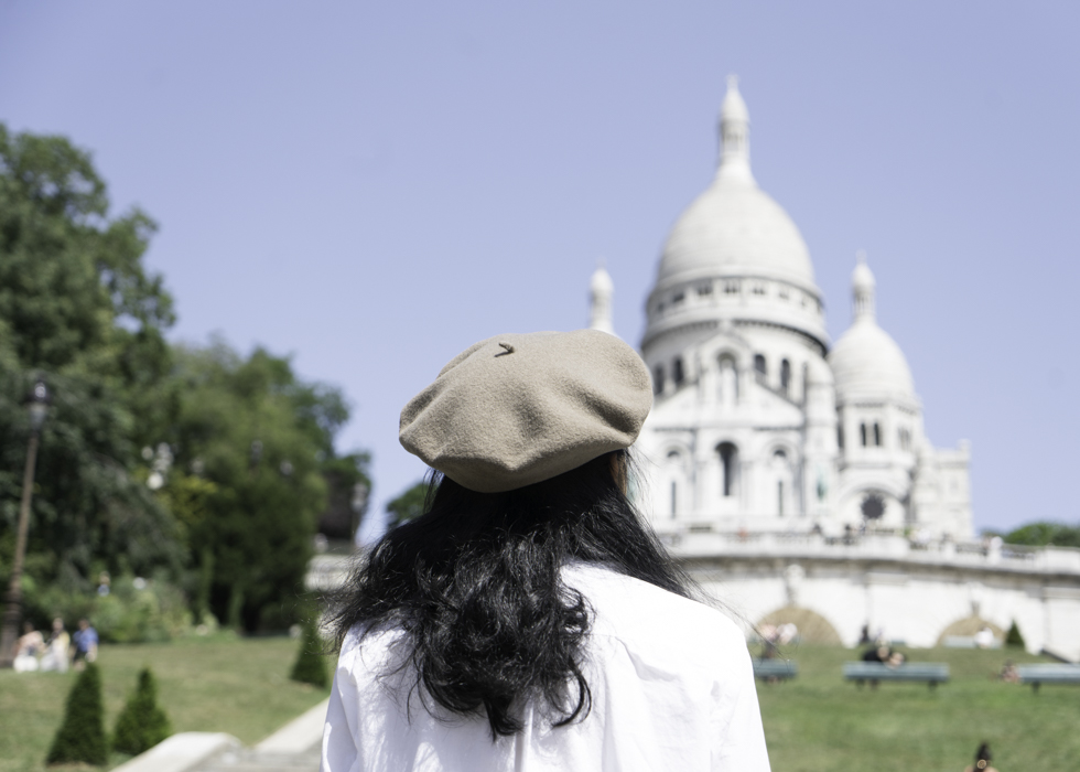 french chic fashion-beret