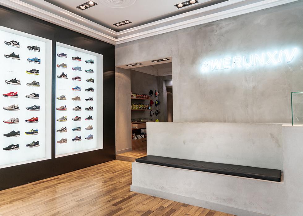 Best running shoe shop in Paris : Quatorze