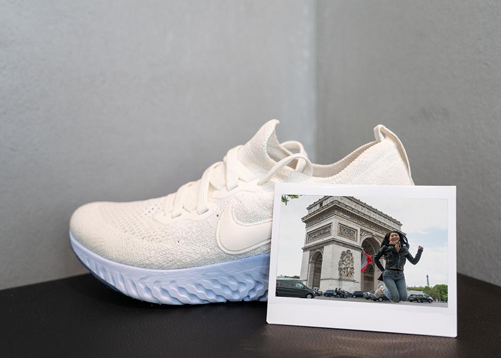 Paris comfortable running shoes