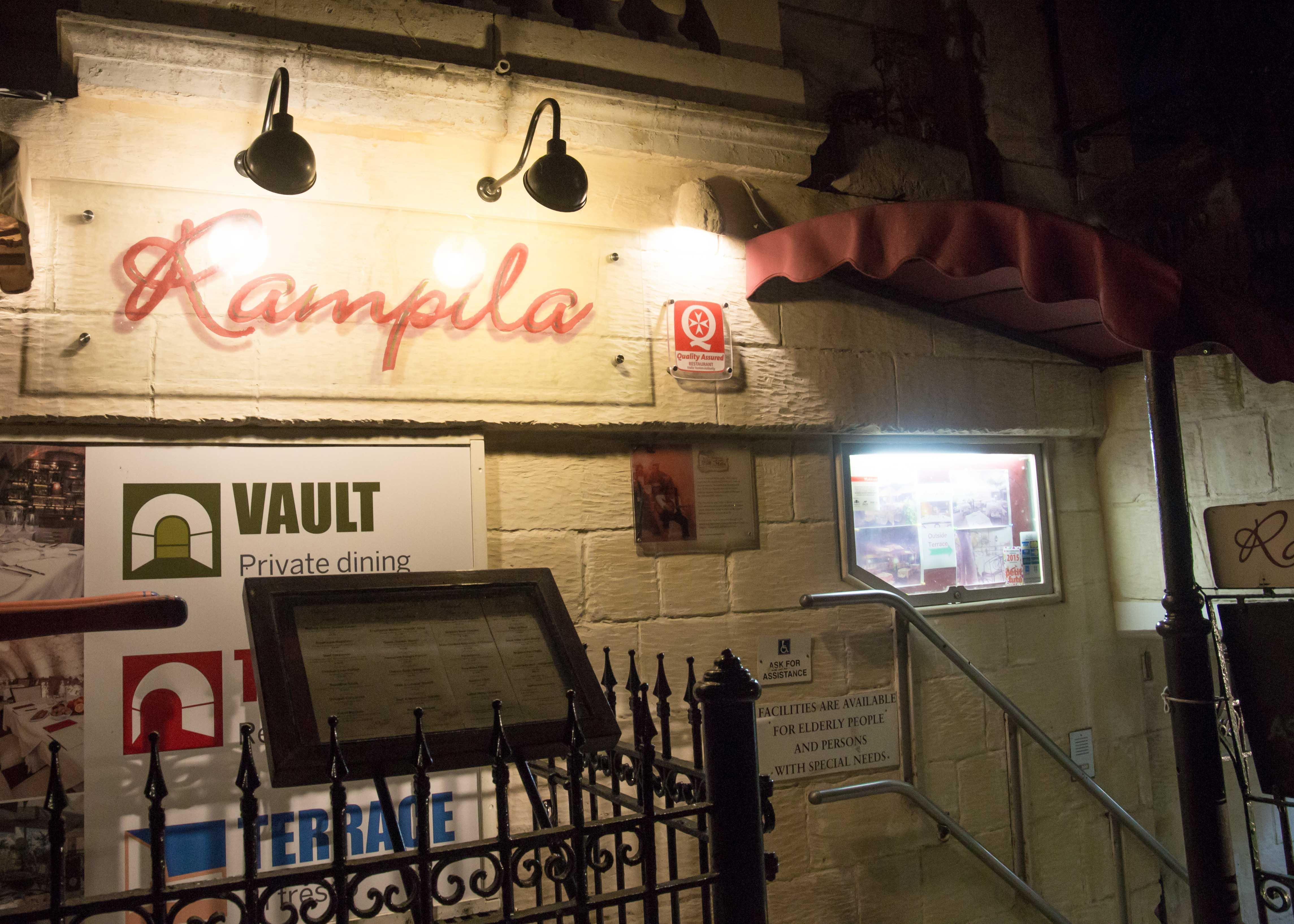 馬爾他瓦萊塔餐廳推薦 Rampila