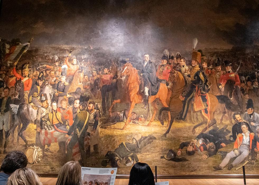 WHAT TO SEE IN RIJKSMUSEUM 2. JAN WILLEM PIENEMAN - WATERLOO