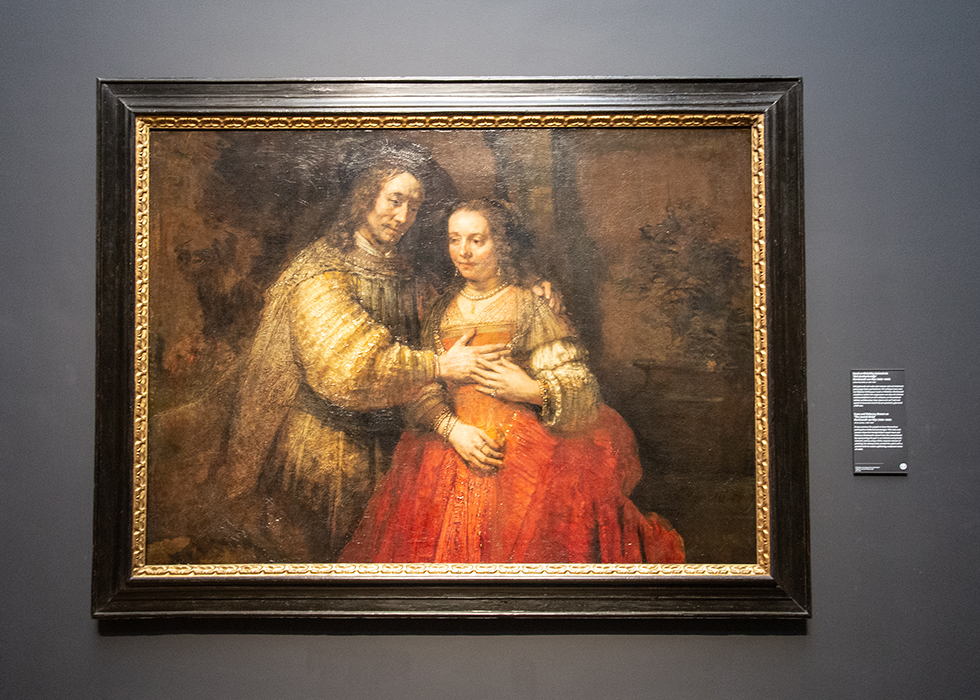 WHAT TO SEE IN RIJKSMUSEUM 4. REMBRANDT - THE JEWISH BRIDE