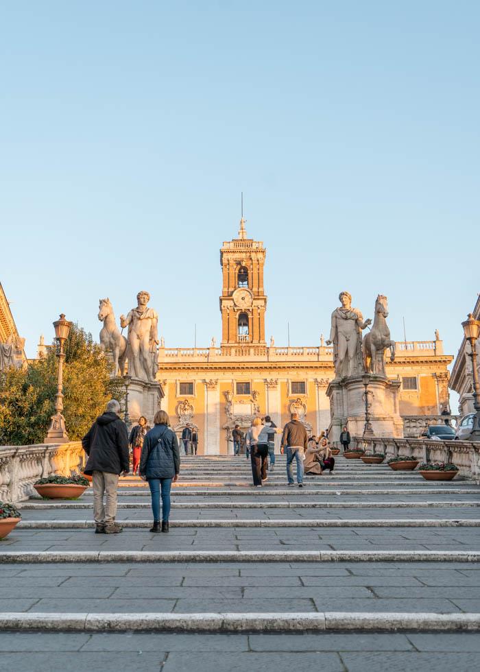 Рим, Капитолийская площадь