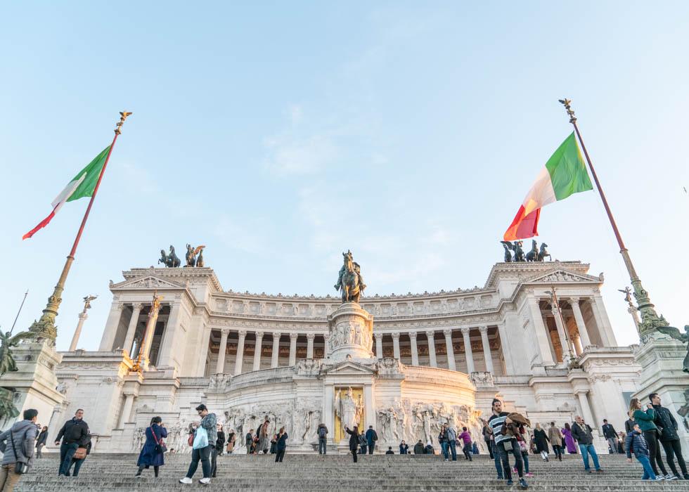 ローマ観光ベストプラン Rome PIAZZA VENEZIA