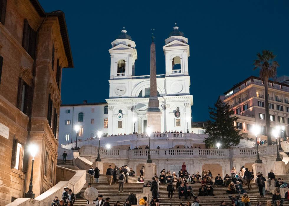 ローマ観光 スペイン広場 Rome SPANISH SQUARE