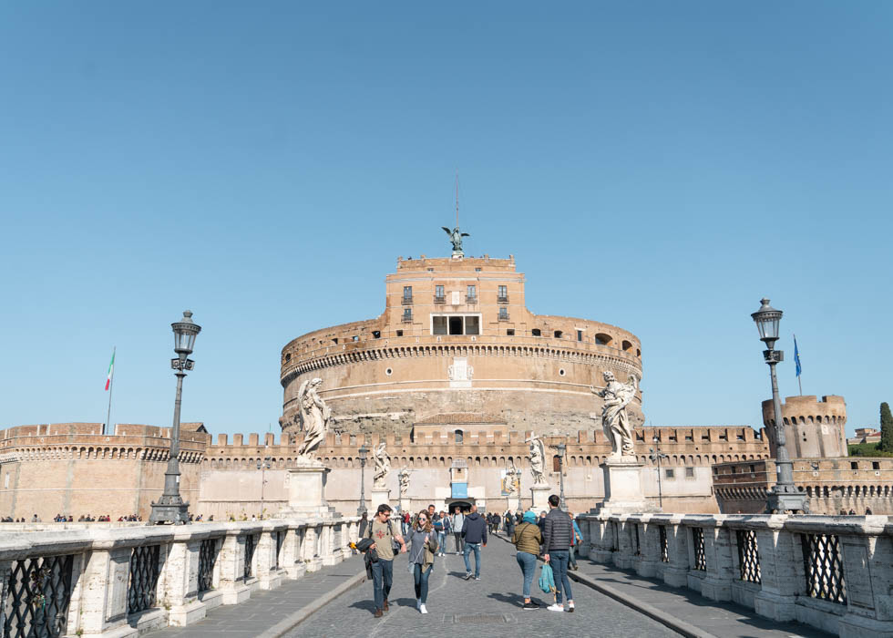 Rome CASTLE OF THE HOLY ANGLE