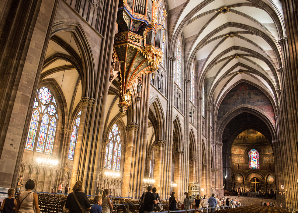 ภายในโบสถ์ Strasbourg