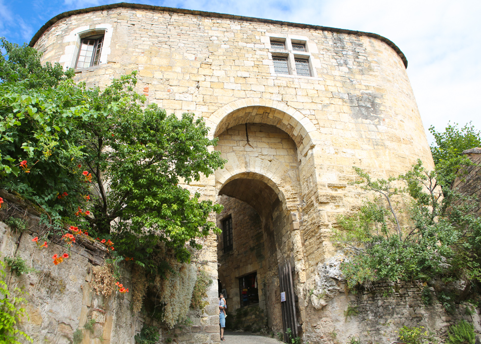 cổng Porte Cordes sur Ciel