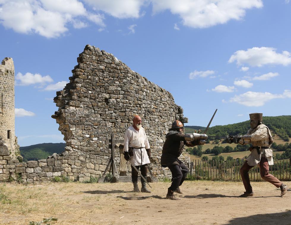 chiến đấu hiệp sĩ thời trung cổ
