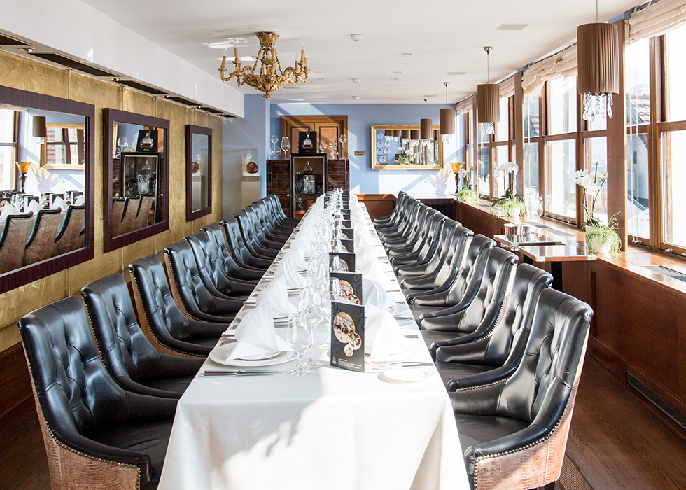 Best Prague Restaurant : Terasa U Zlate Studne