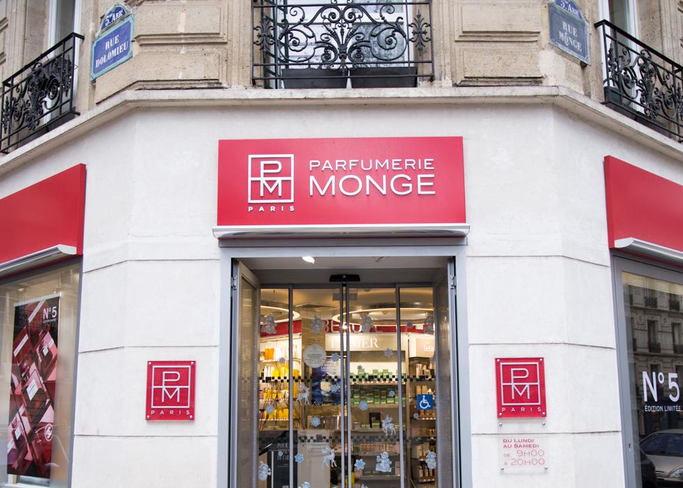 蒙日彩妆香水店:巴黎去哪里买香水
