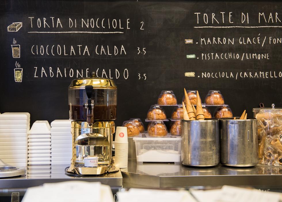 ร้านเจลาโต้ในตูริน Mara dei Boschi