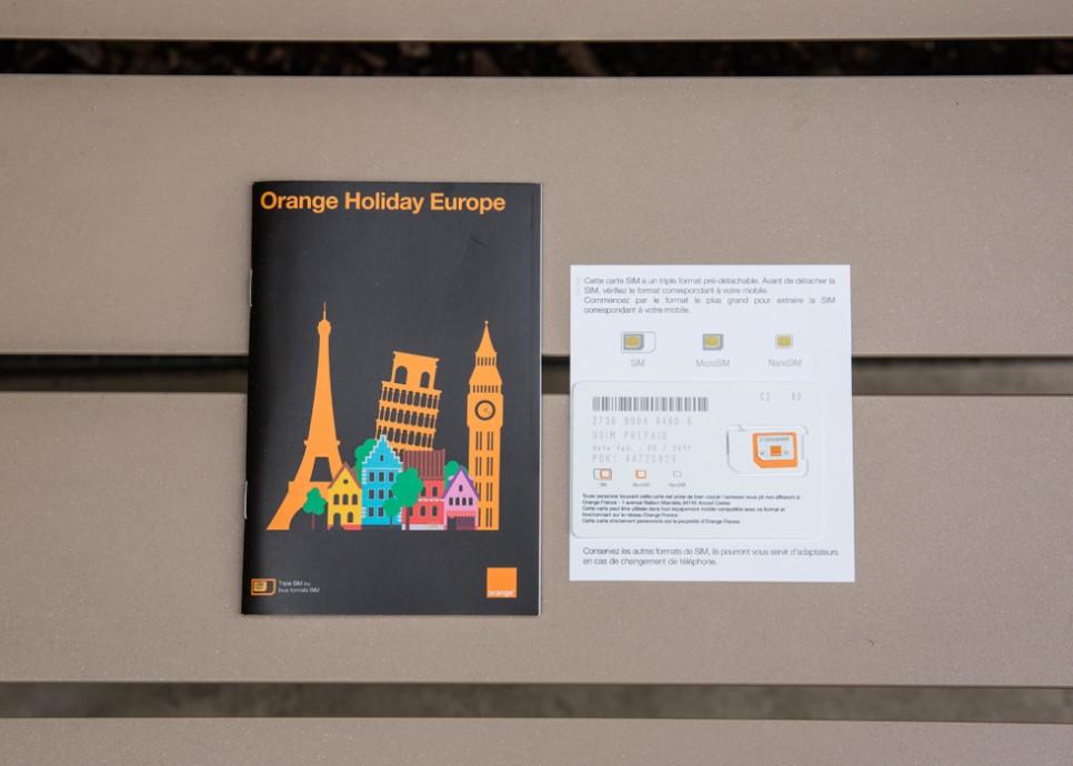 Vs easy to be parisian for Paris orange card